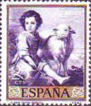 [Paintings by Bartolome Esteban Murillo - Stamp Day, type ATG]