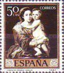 [Paintings by Bartolome Esteban Murillo - Stamp Day, type ATI]
