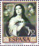 [Paintings by Bartolome Esteban Murillo - Stamp Day, type ATJ]
