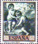 [Paintings by Bartolome Esteban Murillo - Stamp Day, type ATK]