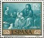 [Paintings by Bartolome Esteban Murillo - Stamp Day, type ATM]