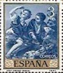 [Paintings by Bartolome Esteban Murillo - Stamp Day, type ATO]