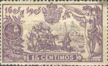 [The 300th Anniversary of Don Quijote - Control Number on Backside, type AW]
