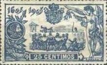 [The 300th Anniversary of Don Quijote - Control Number on Backside, type AX]