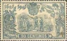 [The 300th Anniversary of Don Quijote - Control Number on Backside, type AY]