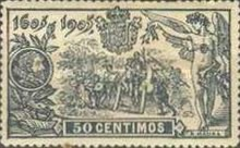 [The 300th Anniversary of Don Quijote - Control Number on Backside, type BA]