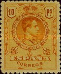 [King Alfonso XIII - As Previous With Different Perforation, type BG23]
