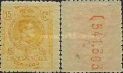 [King Alfonso XIII - Different Colors, type BG26]
