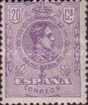 [King Alfonso XIII - Lithographed, type BG30]