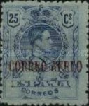 [Airmail - King Alfonso Issue of 1909-1917 Overprinted