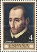 [Paintings by Lius de Morales - Stamp Day, type BTO]