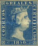 [Queen Isabella II, type C1]