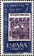 [The 500th Anniversary of Printing in Spain, type CBM]