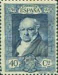 [The 100th Anniversary of the Death of Francisco de Goya, 1746-1828 - Inscription