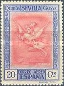 [Airmail - The 100th Anniversary of the Death of Francisco de Goya, type CQ2]