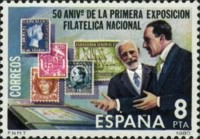 [The 50th Anniversary of the First National Stamp Exhibition, Barcelona, type CRG]