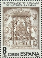 [The 300th Anniversary of the Appearance of the Virgin of the Snow at La Palma, type CRH]