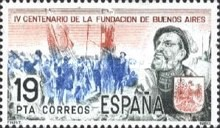 [The 400th Anniversary of Buenos Aires, type CRN]