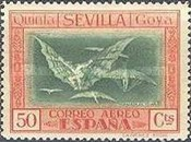 [Airmail - The 100th Anniversary of the Death of Francisco de Goya, type CS1]