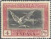 [Airmail - The 100th Anniversary of the Death of Francisco de Goya, type CS2]