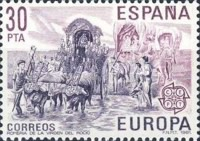[EUROPA Stamps - Folklore, type CSL]