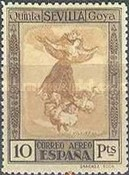[Airmail - The 100th Anniversary of the Death of Francisco de Goya, type CT2]
