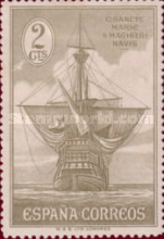 [Columbus and the Discovery of America - Ships, type CW]