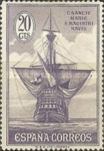 [Columbus and the Discovery of America - Ships, type CW3]