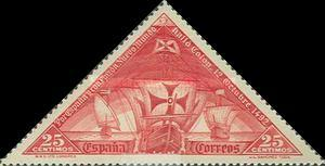 [Columbus and the Discovery of America - Ships, type CX]