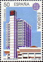 [EUROPA Stamps - Post Offices, type DJH]