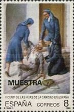 [The 200th Anniversary of Daughters of Charity, Spain, type DJQ]
