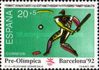 [Olympic Games - Barcelona '92, Spain, type DJY]