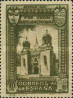 [Completion of the Ibero-American Exhibition, Seville, type DK]