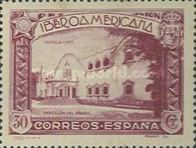 [Completion of the Ibero-American Exhibition, Seville, type DP]