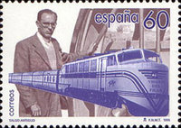 [The 100th Anniversary of the Birth of Alejandro Goicoechea, type DTM]