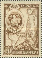 [Completion of the Ibero-American Exhibition, Seville, type DV]