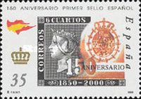 [The 150th Anniversary of Spanish Stamps, type EFV]