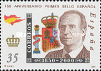 [The 150th Anniversary of Spanish Stamps, type EFX]