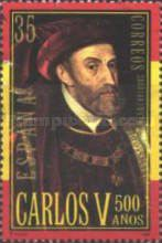 [The 500th Anniversary of the Birth of Carlos V, type EGB]