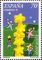 [EUROPA Stamps - Tower of 6 Stars, type EGN]