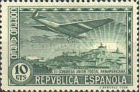[Airmail - The 3rd Pan American Postal Congress, type FC1]