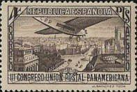 [Airmail - The 3rd Pan American Postal Congress, type FE]