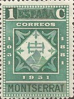 [The 900th Anniversary of the Montserrat Monastery, type FF]