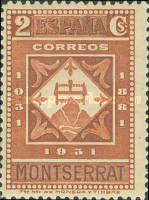 [The 900th Anniversary of the Montserrat Monastery, type FF2]