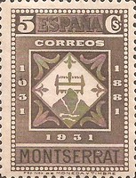 [The 900th Anniversary of the Montserrat Monastery, type FF4]
