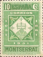 [The 900th Anniversary of the Montserrat Monastery, type FF6]