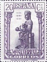 [The 900th Anniversary of the Montserrat Monastery, type FH]