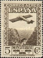 [Airmail - The 900th Anniversary of the Montserrat Monastery, type FL]