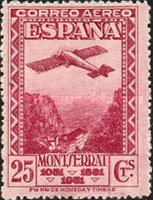 [Airmail - The 900th Anniversary of the Montserrat Monastery, type FL4]