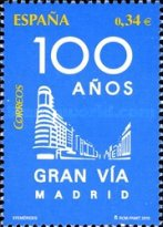 [The 100th Anniversary of the Gran Via of Madrid, type FQY]